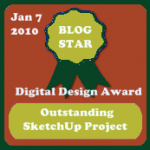 Blog Star - Sketchup
